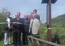 Minister Martin Cullen declares Fenor Bog, Co. Waterford a National Nature Reserve